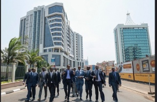 No More Cars In Kigali City Center