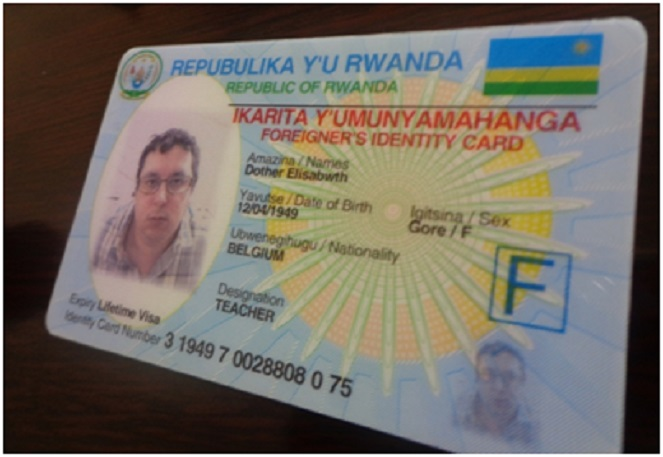 The current ID without ethnicity of the holder