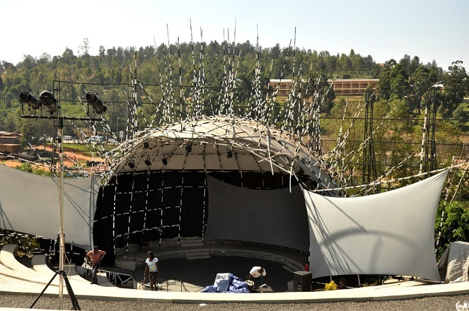 What Did The Amphitheatre At Ubumuntu Arts Festival Mean?