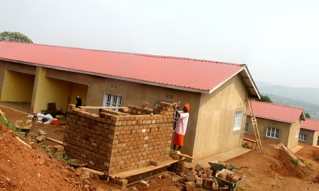 Housing project for the disabled ex-combatants in Muyumbu, Rwamagana district