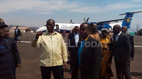 Premier Murekezi Flies To Rusizi For Big Business
