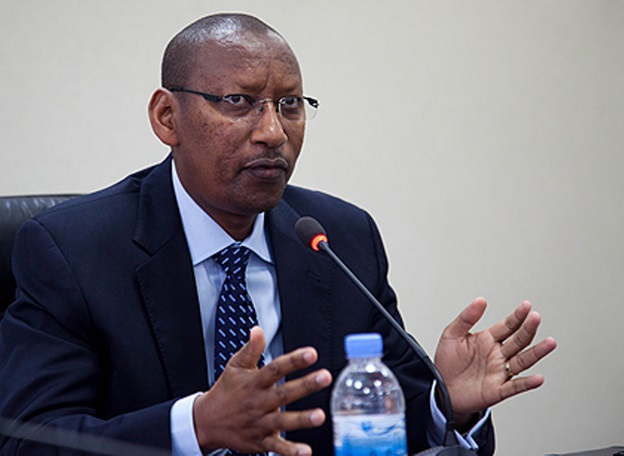 John Rwangombwa the Governor of Rwanda's Central Bank (BNR)