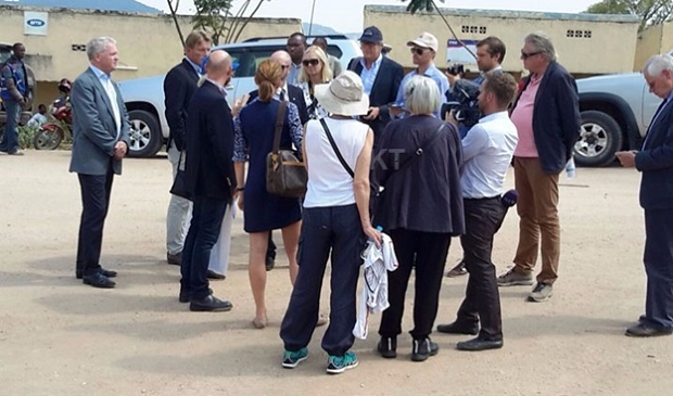 A team of Swedish prosecutors and defense lawyers in Rwanda to conduct crime scene investigations in the case of Clever Berinkindi a Rwandan accused of genocide crime.