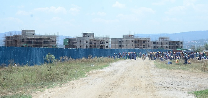 Rwanda is experiencing construction boom as demand for housing continues to rise