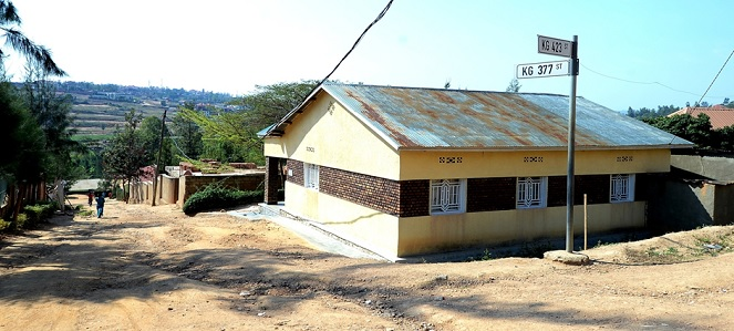 Low income earners save from their meager incomes to construct such low-cost houses which are dominant across the city.