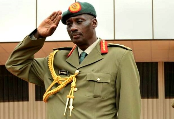 Late General Aronda Nyakairima, he was Uganda's Minister of Internal security and was former Army chief