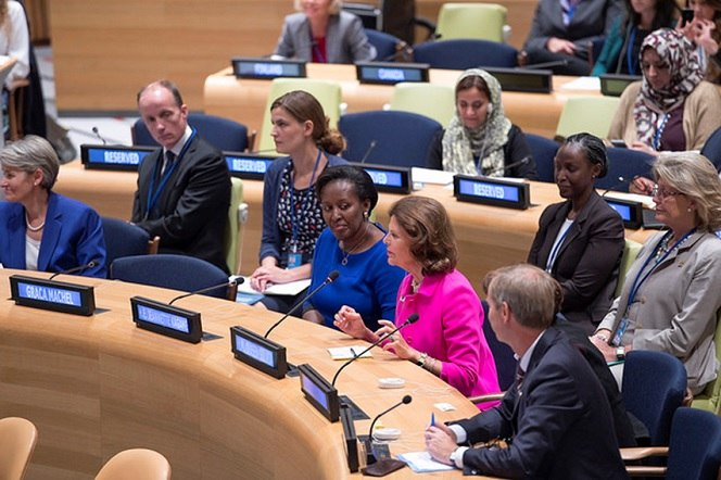 Mrs Kagame Drumming Up Support For Women And Children
