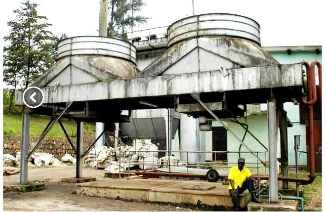 Tin Smelting site located at Karuruma suburb 7km outisde Kigali.