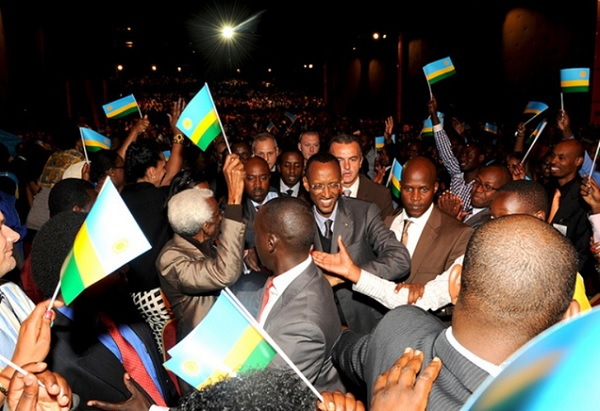President Paul Kagame at previous Rwanda Day event