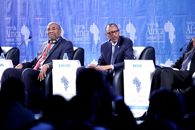 President Paul Kagame at the Second edition of Transform Africa Summit