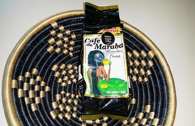 Rwanda made coffee Café de Maraba