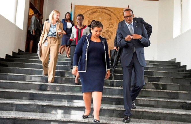 US Attorney General Hold Talks With Kagame