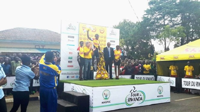 Eritrea's Mekseb Wins Stage4 As Rwanda Defends Yellow Jersey
