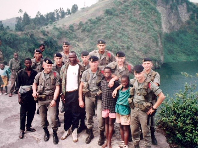 French soldiers were already in Rwanda before the large scale massacre of Tutsis got underway
