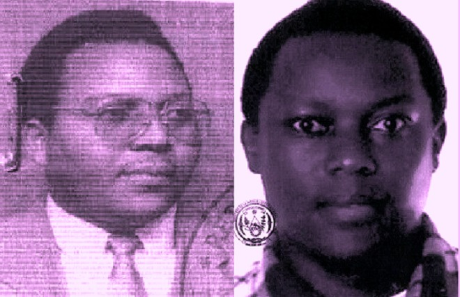 From left-Jean Baptiste Mugimba and Jean Claude Iyamuremye