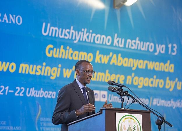 Speech by President Paul Kagame at opening of Umushyikirano 2015 in Kigali, Rwanda