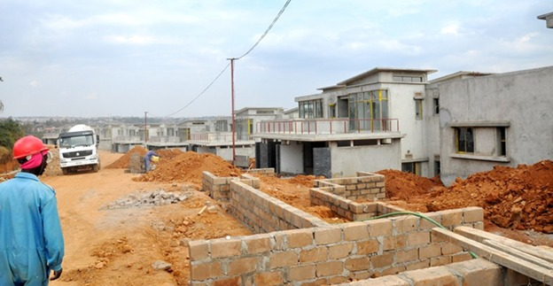 Housing construction is booming Rwanda due to the high demand for affordable housing