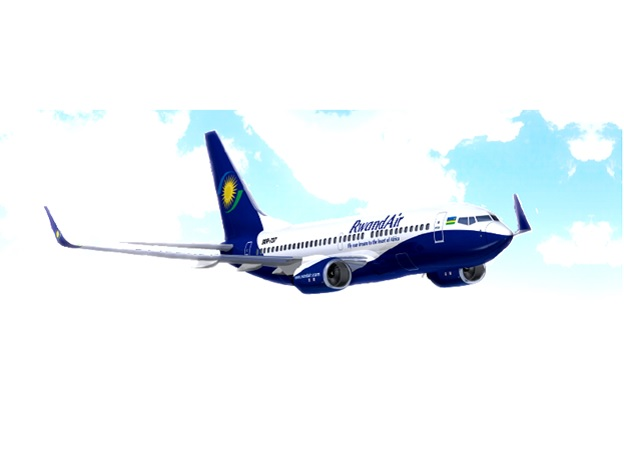 Rwandair aircraft