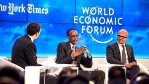 Davos' Love Affair With Rwanda