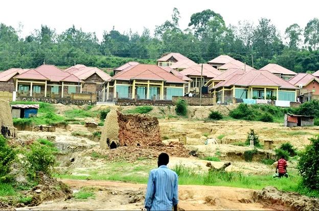 New houses at Urukumbuzi village in Kinyinya sector Gasabo district
