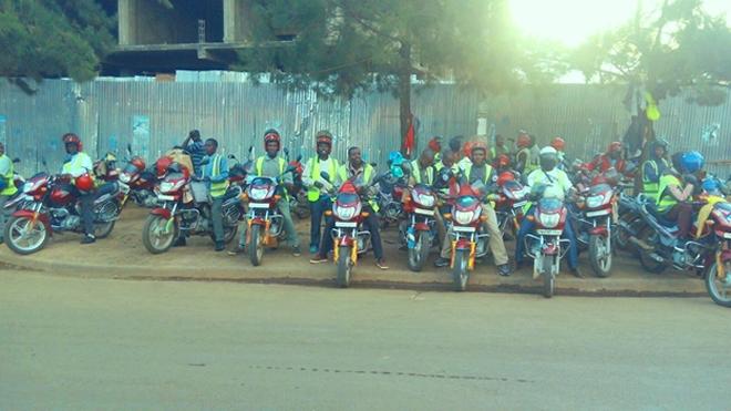 moto taxi operators in Rusizi District