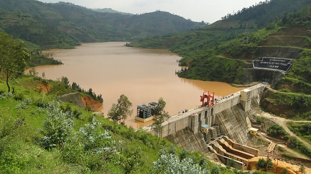 A Dam built on Nyabarongo river in Rwanda. The country just like many other countries in Africa offers opportunities for Investment in the Energy sector