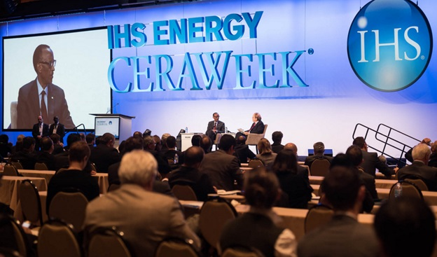 President Kagame at the CERAWeek event in Houston, Texas, U.S