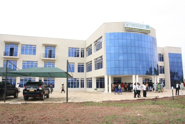 New district Headquarters of Nyaruguru district . Below is the old office