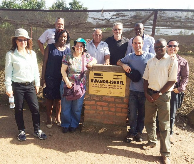 Israel group of Investors at Mulindi