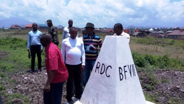 Border demarcation commission at Mbugangari