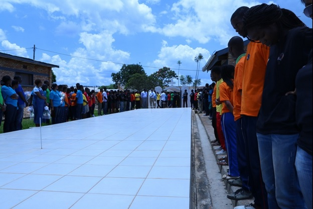 GAERG and AERG members pay homage to victims at the Mugombwa memorial site on April 19, 2016 (All Photos by Roger Rutindukanamurego)