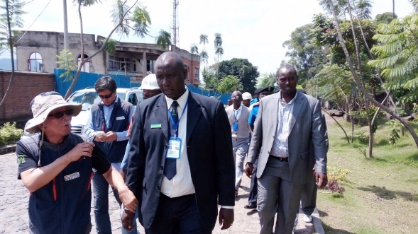 Rwanda and DRC border demarcation commission officials