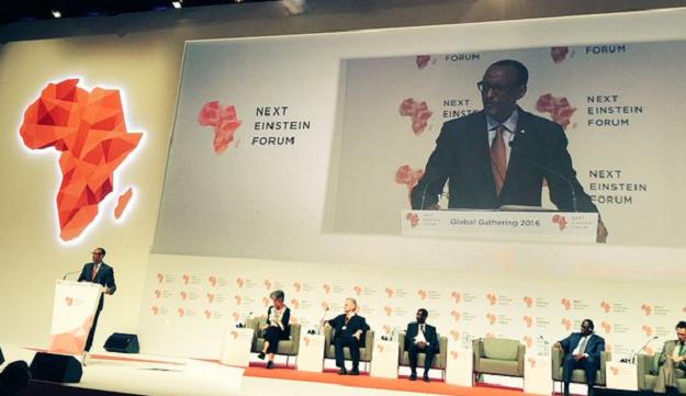 President Kagame speaking at NEF2016 in Dakar Senegal