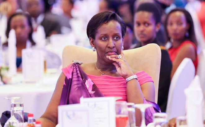 Rwanda's First Lady Mrs. Jeannette Kagame