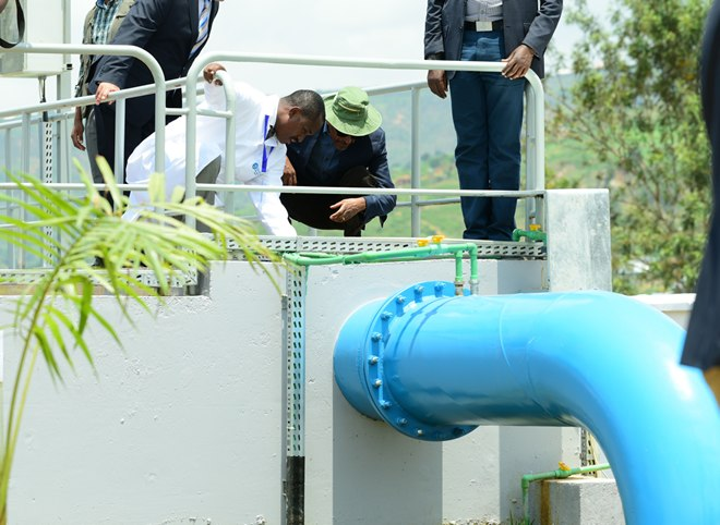 American Firm Fixes Kigali's Water Puzzle, Turns Dirty Water Into Its Finest