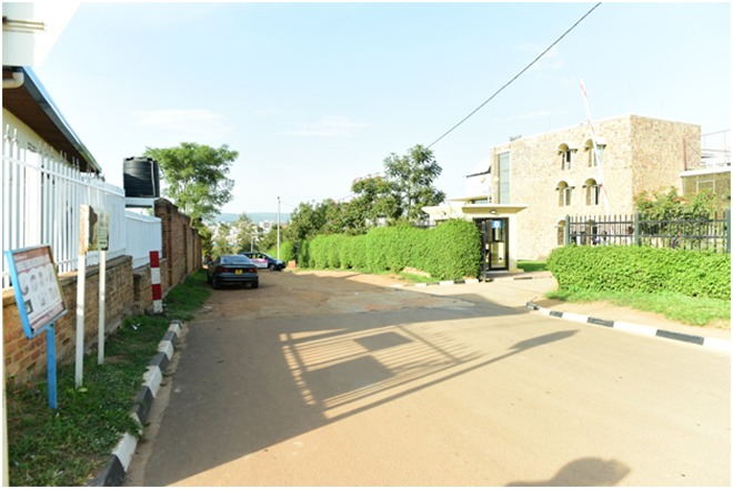 BRT will affect this  building and pass through the Kigali Library compound