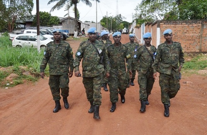 Rwanda Defence Force Peacekeepers in CAR
