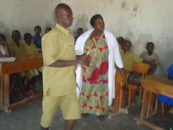 Teachers say Ngango is an exemplary pupil