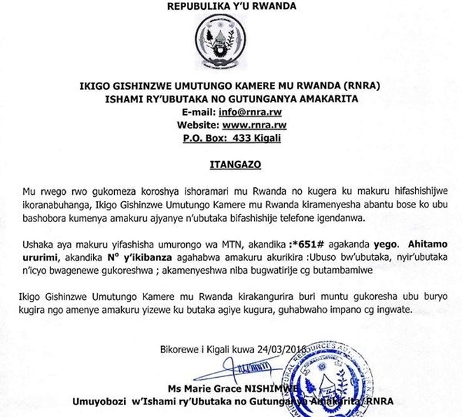 m_New Phone System Now Allows Rwandans To Access Status Of Land2