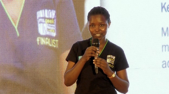 Rosine Mwiseneza crowned Ms Geek 2016, her Irrigation project was the best innovation