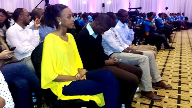 Miss Rwanda also graced the event