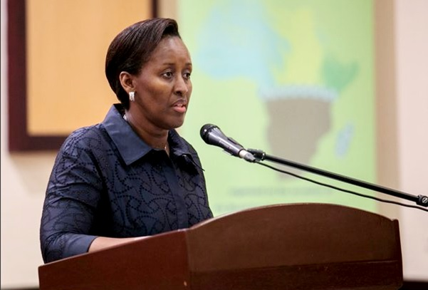 First Lady Jeannette Kagame