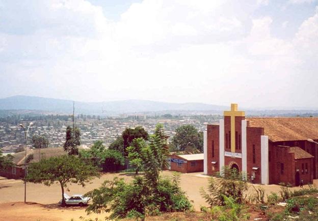 saint famille church in Kigali