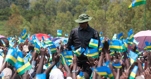 President Kagame meeting residents in Karongi district