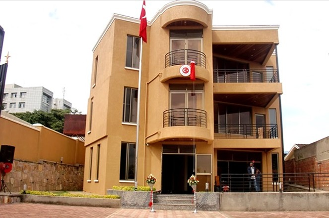 The Turkish Embassy in Kigali officially opened