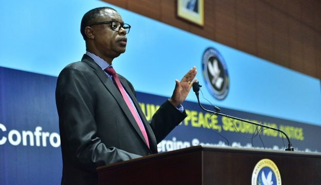 Gen. James Kabarebe, Rwanda's Minister of Defense