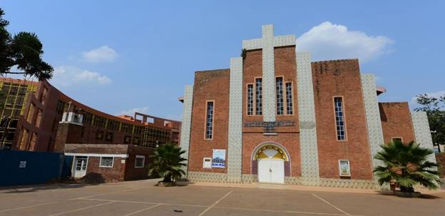 Sainte Famille church in which more than 200 Tutsi were killed
