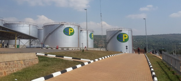 About  22 million litres of petroleum products can be stored at the new depot