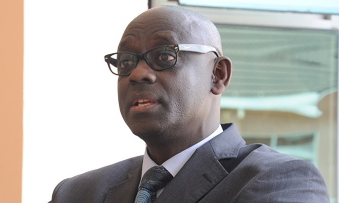 Justice Minister Johnston Busingye