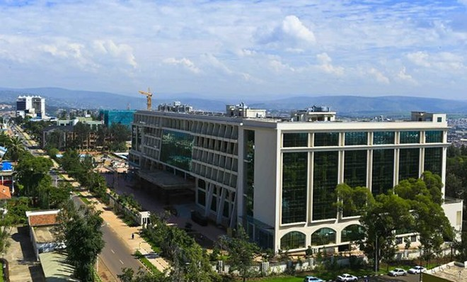 Marriot Hotel, Kigali is one of the new major infrastructure
